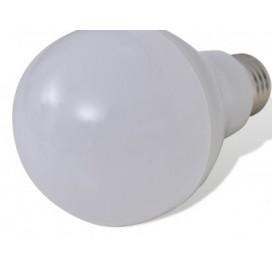 12 pieces E27 / 12 W lamps, White
