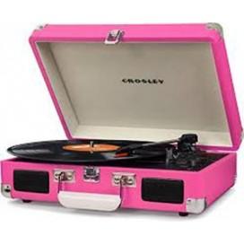 Crosley Cruiser Deluxe Turntables - Pink