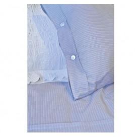 Bedding set for Bed 100% Cotton Blue 260X270cm