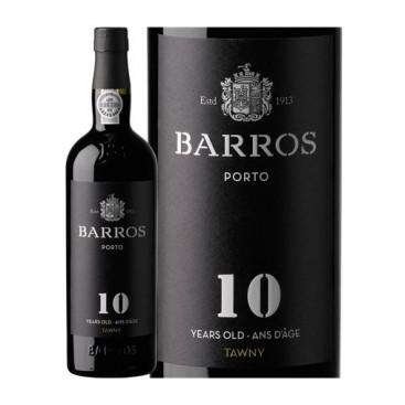 Port Wine 10 Years 0.75 Lt BARROS - 20ª