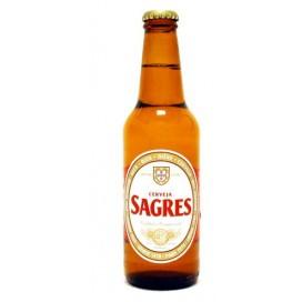 Sagres - Premium Portuguese Lager Beer - 24 x 330 ml - 5.1% ABV