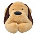 Cão de peluche castanho 160 cm