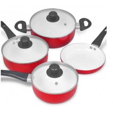 7 pcs ceramic induction cookware set