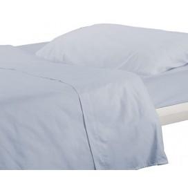 Set Blue Bed 100% Alg 160X280 Smooth
