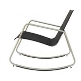 Rocking chair silver