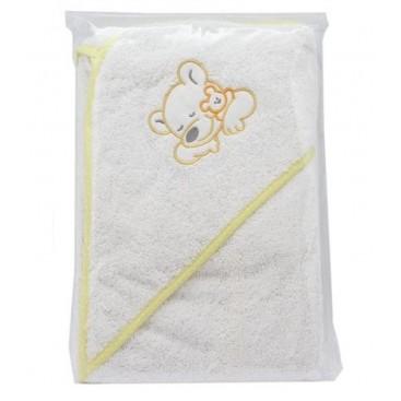 Towel Bath 70 * 70 C / Bord.Branco