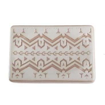 Spirit ceramic soap dish