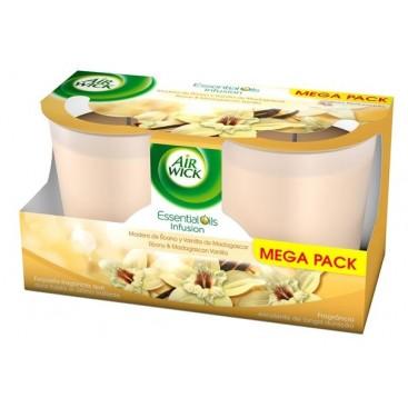 Duopack 320 G vanilla candle air freshener AIRWICK