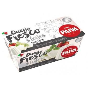 Long Fresh Cheese Duration 3 Milks 2X62.5G  Paiva