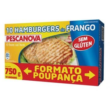 Chicken Burger S / Gluten 750 G  Pescanova