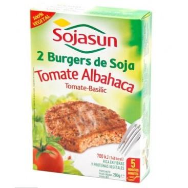 Burger Tomato Basilico 2X100 G  SOJASUN