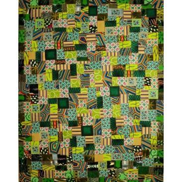 """Painting """"Harmonia IV"""" (Harmony IV) by Irley Rivera"""