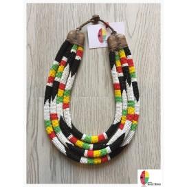Coral Dream - Handmade Missanga Necklace