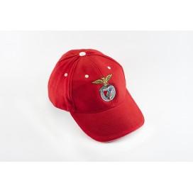 Red Cap Logo on Rubber / 红色鸭舌帽 橡胶徽标