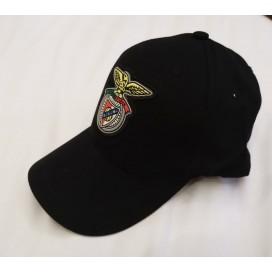 Black Cap Logo on Rubber / 黑色鸭舌帽 橡胶徽标