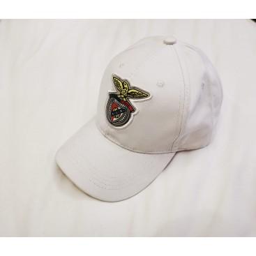White Cap Logo on Rubber