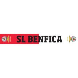 Scarf Red and White SL Benfica / 红白色围巾 SL 本菲卡标志