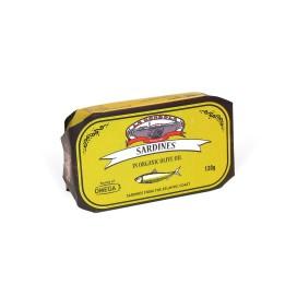 Sardines in Organic Olive Oil 120g