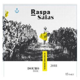 Raspa Saias 2018 Doc Douro White 750ml 6bottles / Raspa Saias 2018 Doc 杜罗白葡萄酒 750ml 6瓶装