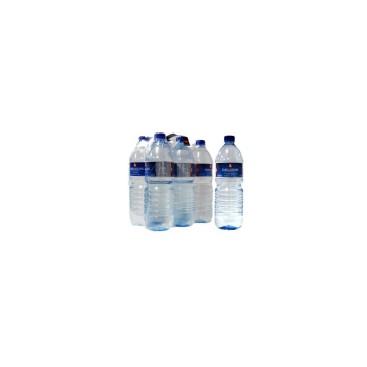 Still Mineral Water - PET Bottle - with plastic wrap (pack) PET 1,50L NAT. PACK*6