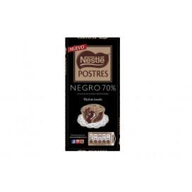 NESTLÉ SOBREMESAS Black Chocolate 70% Cocoa 14x170g