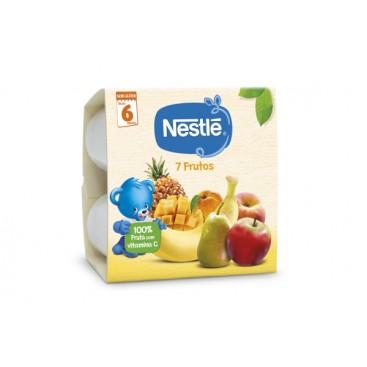 NESTLÉ 7 Fruits Fruit Cups Baby Food 6(4x100g)