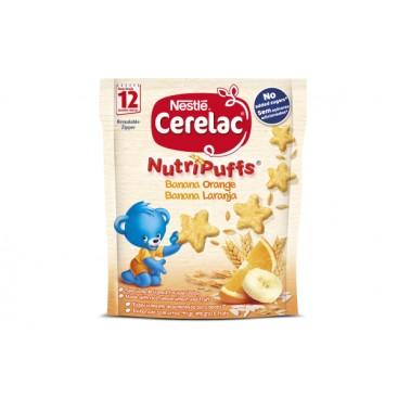 CERELAC NUTRIPUFFS Banana Orange Cereal snack 12x50g