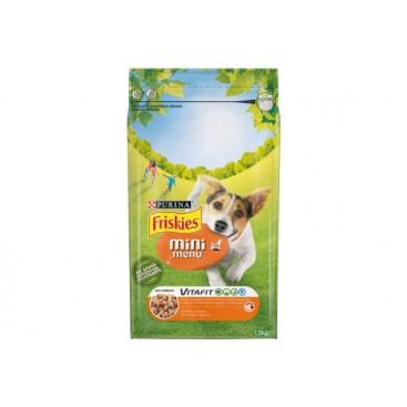 PURINA® FRISKIES® MINI MENU Dog Food Chicken 1.5kg