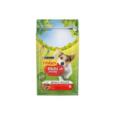 PURINA® FRISKIES® MINI MENU beef Taste 3kg