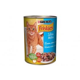 Friskies Cat Food Salmon, Tuna and Vegetables 400g