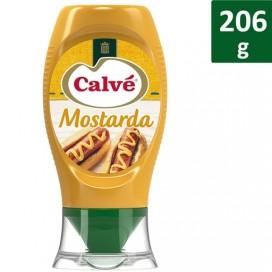 CALVÉ MUSTARD TOP DOWN PACK 8X206 GR