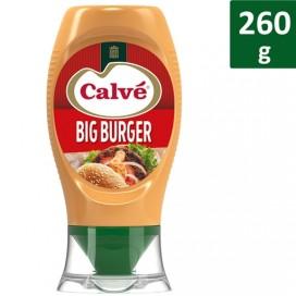 CALVÉ BURGER SAUCE MAYONNAISE TOP DOWN PACK 8X260GR