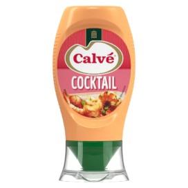 CALVÉ COCKTAIL SAUCE MAYONNAISE TOP DOWN PAC 8X253GR