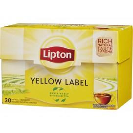 LIPTON TEA YELLOW LABEL PACK 12X20PCS