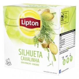 LIPTON LEMON GRASS & GINGER TEA PACK 12X20PCS