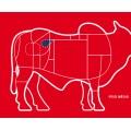 Friboi Frozen Tenderloin 4-5lbs chain off kg / 冷冻去筋牛里脊肉(牛柳、菲力)公斤