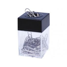 Square Plastic Clip Holder - Box of 12