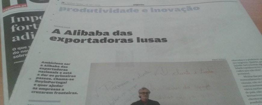 Alibaba of the Lusitanian companies - Article  Jornal de Negócios