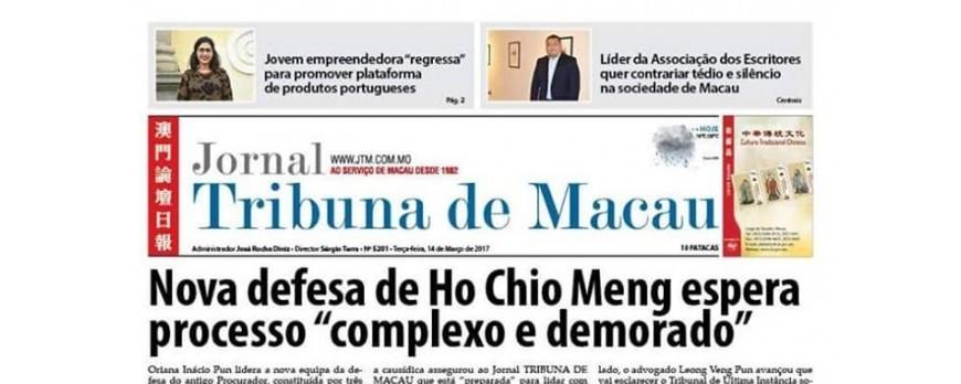 BuyinPortugal @ Tribuna de Macau newspaper